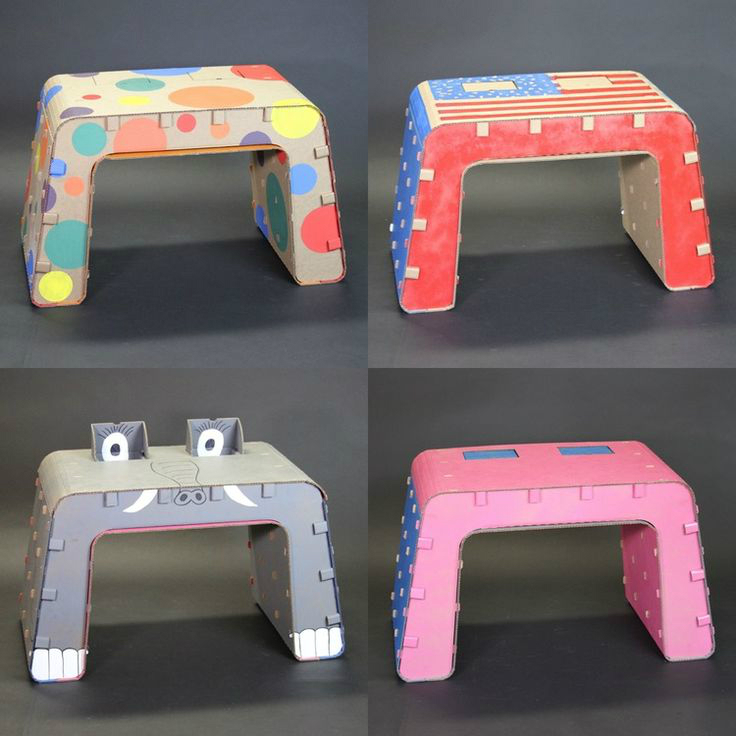 Recyclable Kids Furniture You Can Draw On Decoholic