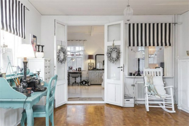Interesting and Exciting Shabby Chic House 16