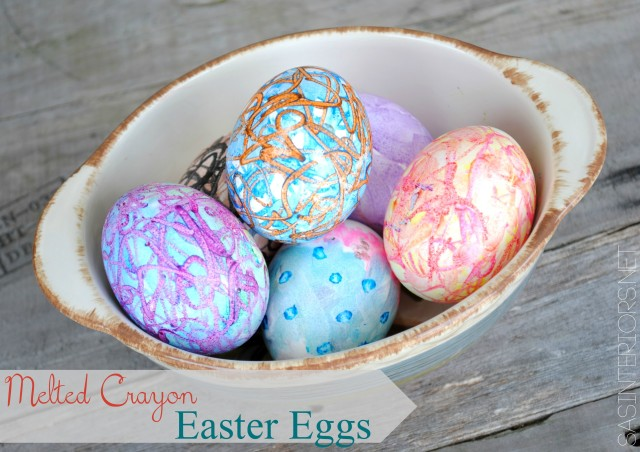 Crayon Waxed Eggs