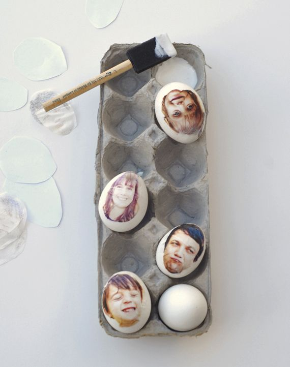 Easter eggs with your favorite photos on them