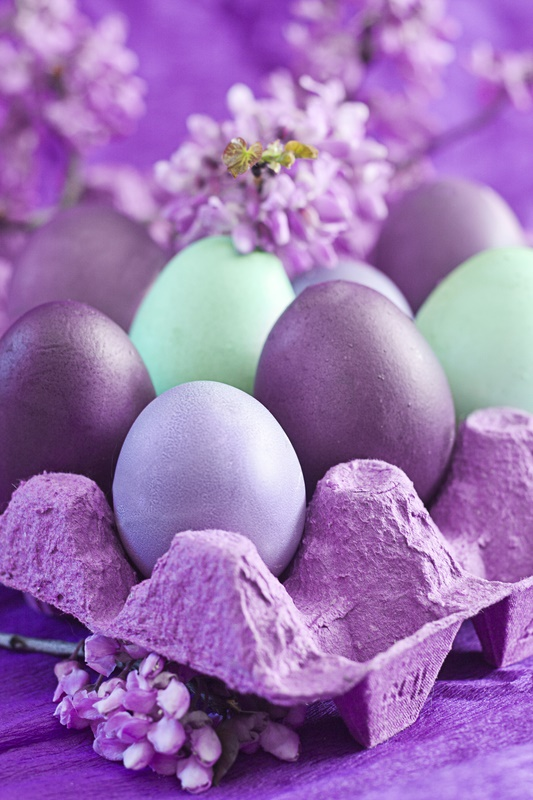 Marbled Easter Eggs decorating idea