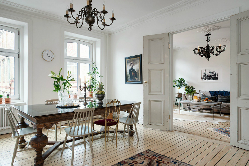 eclectic scandinavian home interior 3