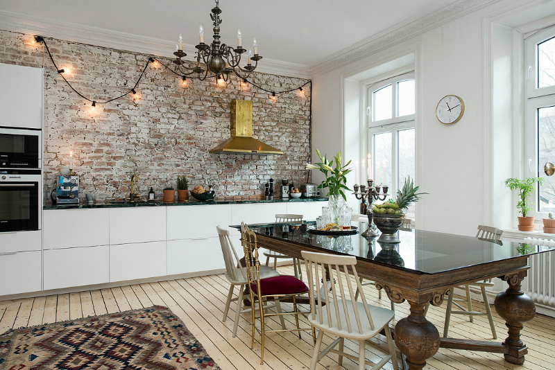 eclectic scandinavian home interior 7