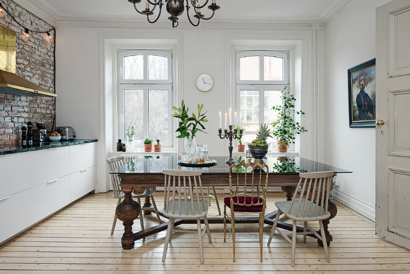 eclectic scandinavian home interior 9