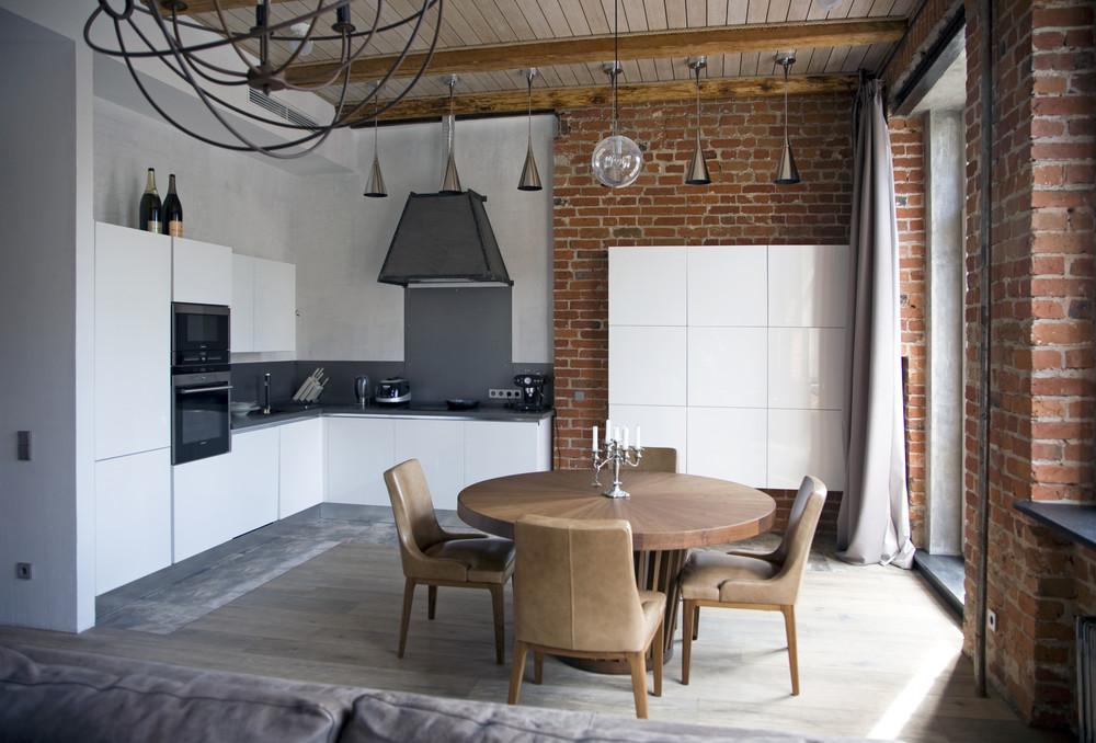 industrial vintage modern apartment interior 18