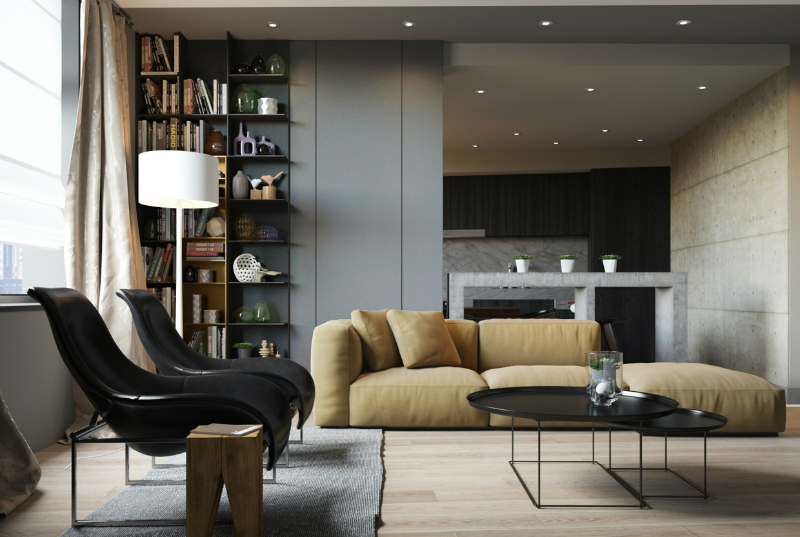 Minimalist Apartment With an Engaging, Laid-Back Temperament 6