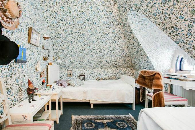 Rustic Scandinavian House 10