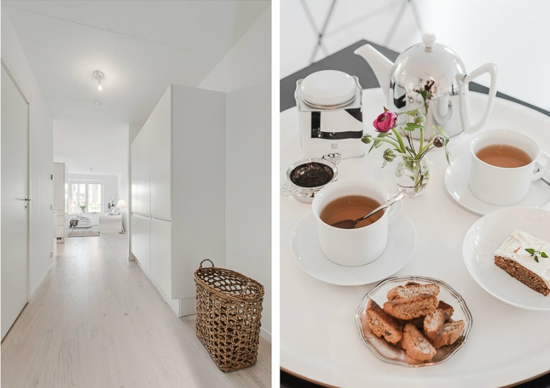 Pure White Scandinavian Interior 16