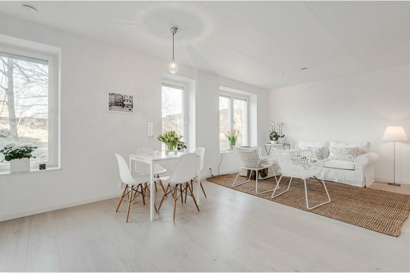 Pure White Scandinavian Interior 3