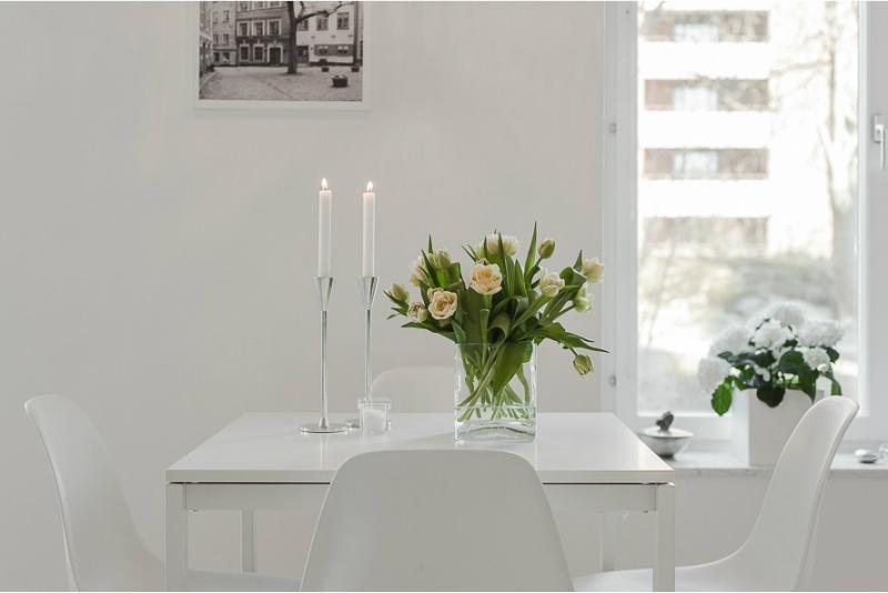 Pure White Scandinavian Interior 5