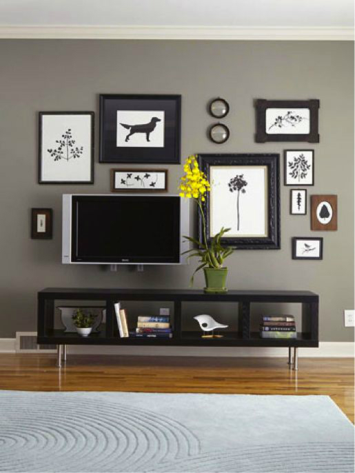 Wall Decor Ideas 18  40 TV Wall Decor Ideas TV wall decor ideas 18