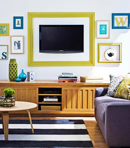 Wall Decor Ideas 19  40 TV Wall Decor Ideas TV wall decor ideas 19
