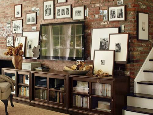 40 tv wall decor ideas decoholic - Hanging tv on wall ideas ...
