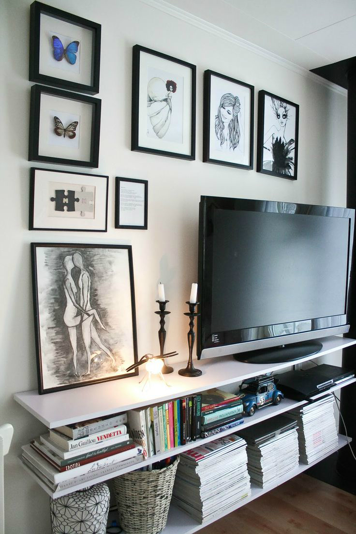 10 TV Wall Decor Ideas  Inspirational TV Wall Design  Decoholic