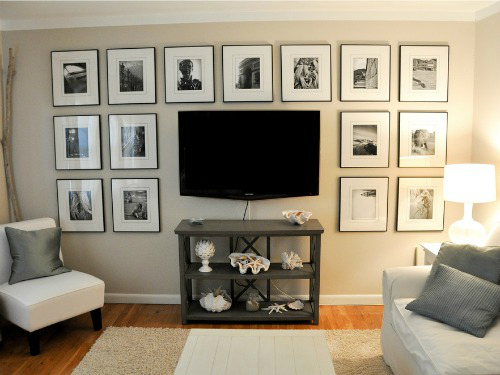 Tv Wall Decor Ideas tv on the wall ideas | arlene designs