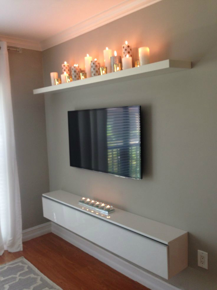 40 TV Wall Decor Ideas  Decoholic