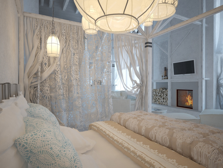 Total White Shophisticated Attic Space 6