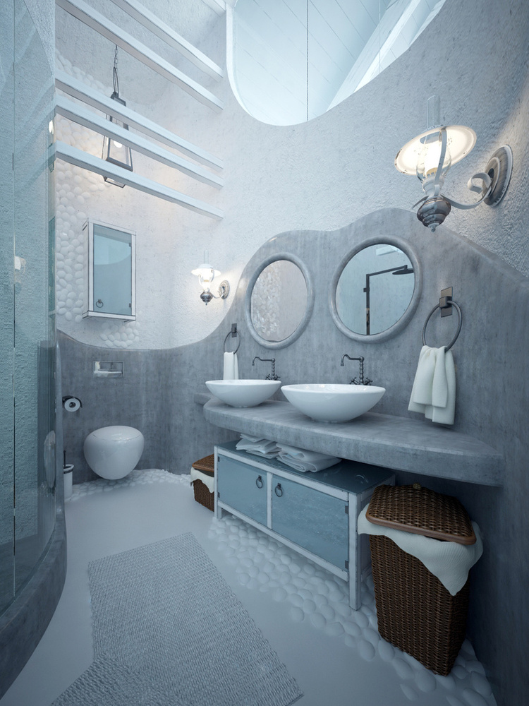 Total White Shophisticated Attic Space 7