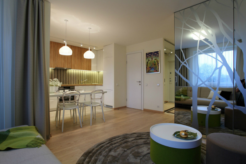 Exceptionally Designed Small Apartment 2