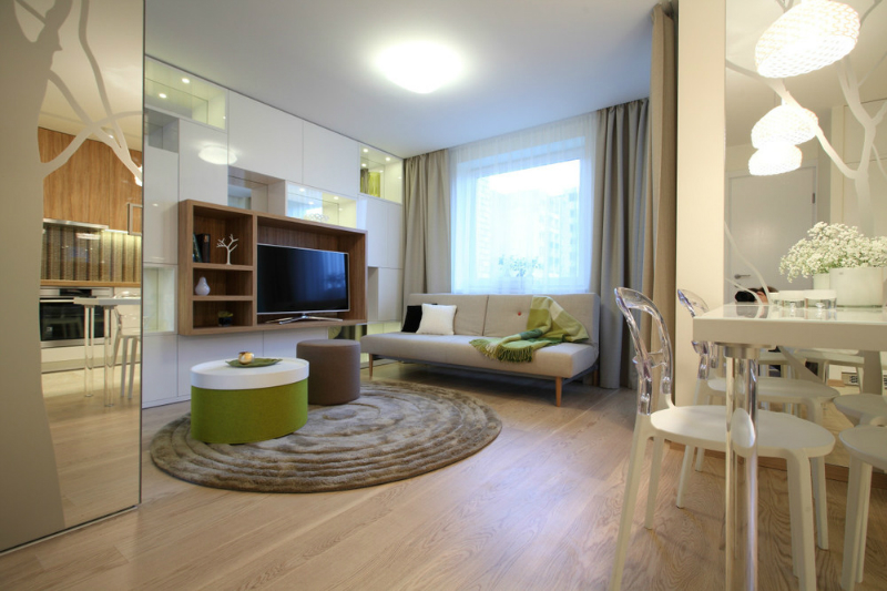 Exceptionally Designed Small Apartment 4