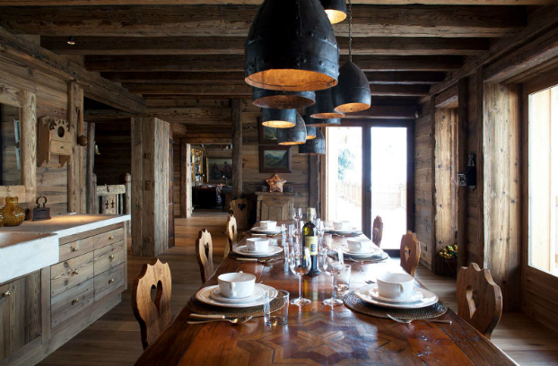 Magnificent Chalet Faithful to the Traditional Savoyard Style 6
