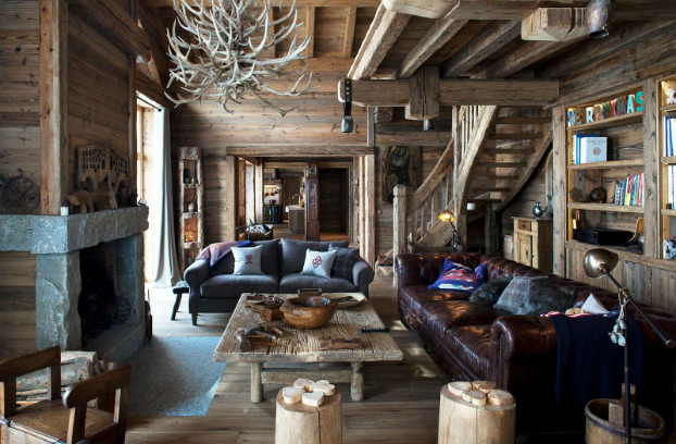 Magnificent Chalet Faithful to the Traditional Savoyard Style