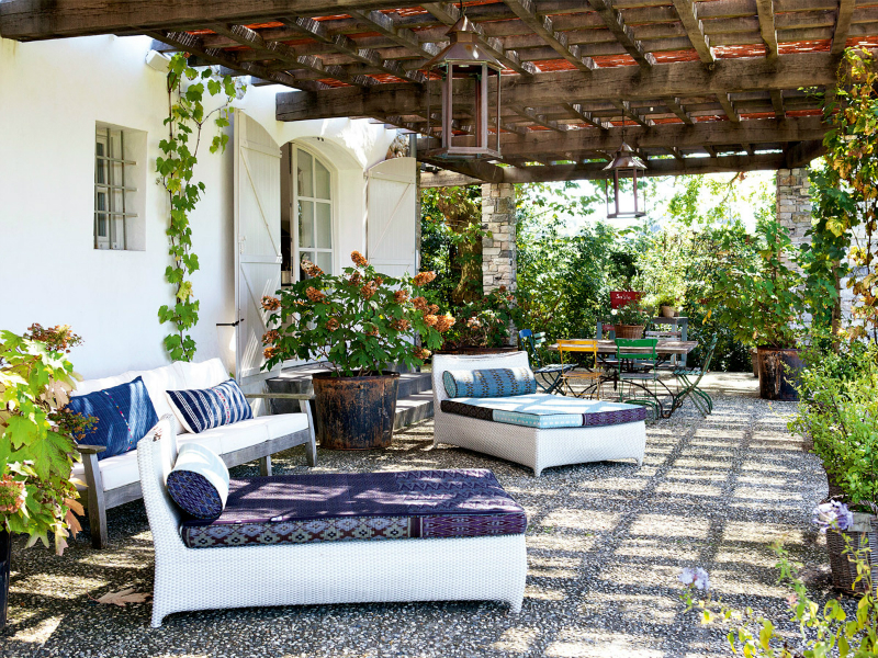 An Old Farm In The French Countryside Turned Into A Fresh Paradise 30