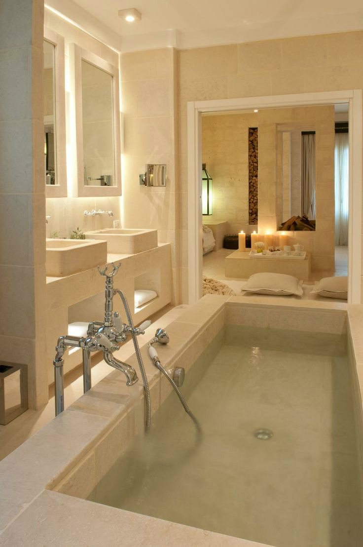 36 dream spa style bathrooms decoholic for Bathroom styles