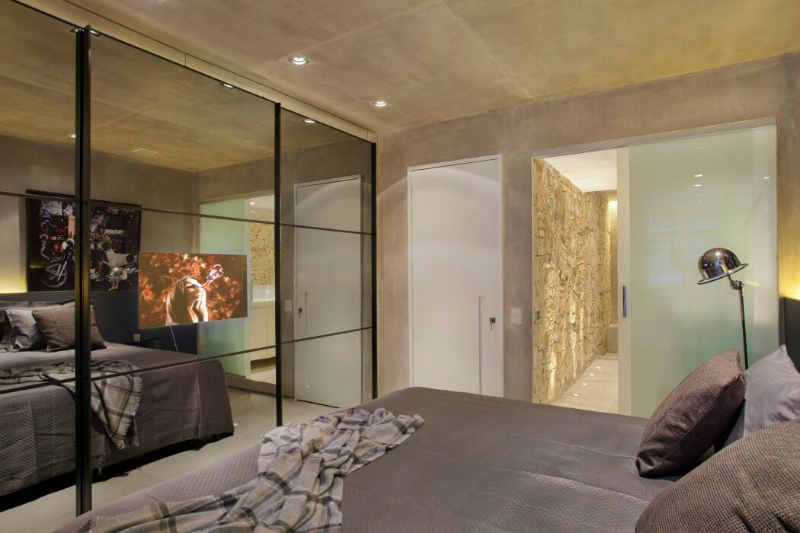Concrete Ultra Modern Apartment 10