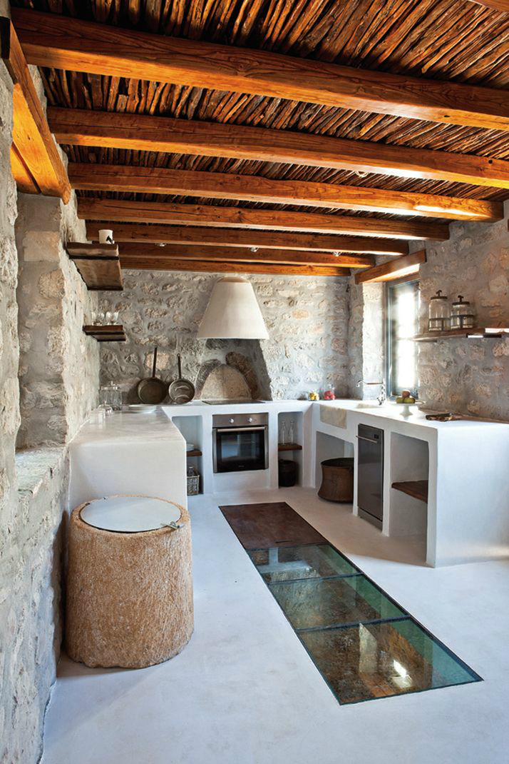Kitchen Design Ideas With Stone Walls 2