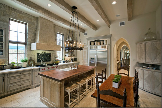 Kitchen Design Ideas with Stone Walls 25