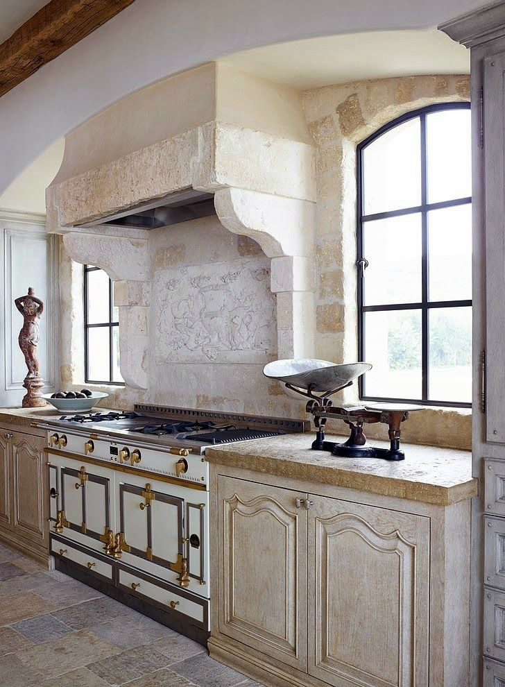 Kitchen Design Ideas with Stone Walls 26