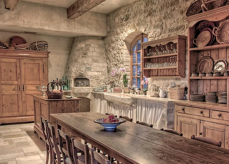 Kitchen Design Ideas with Stone Walls 27