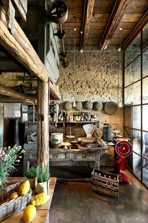 Kitchen Design Ideas with Stone Walls 30