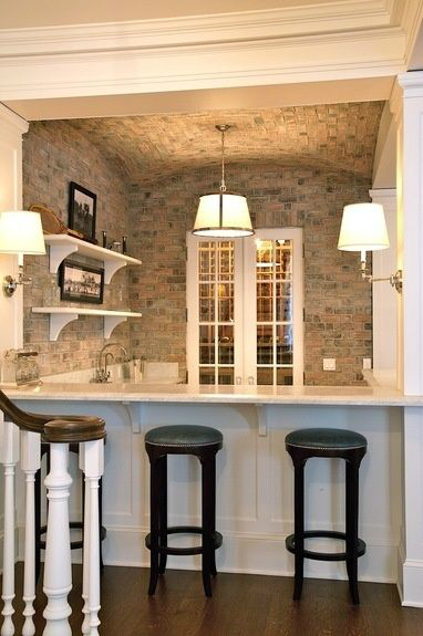 Kitchen Design Ideas with Stone Walls 33