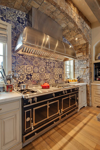 Kitchen Design Ideas with Stone Walls 34