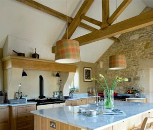 Kitchen Design Ideas with Stone Walls 39