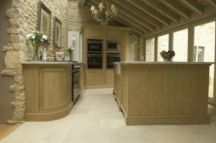 Kitchen Design Ideas with Stone Walls 40