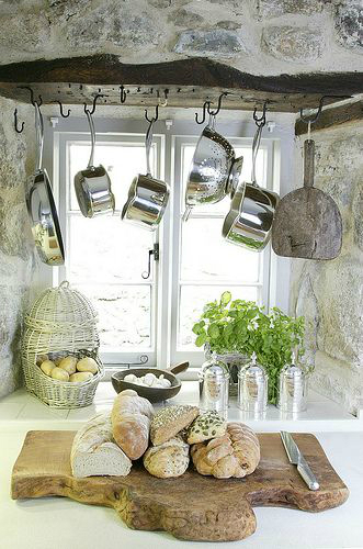 Kitchen Design Ideas with Stone Walls 45