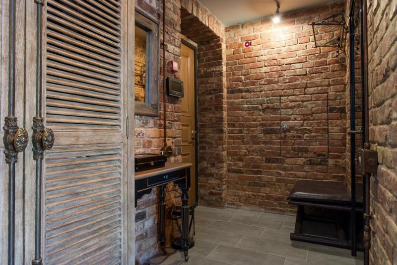 Brick Apartment Interior