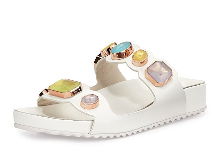 Sophia Webster Becky Gem Slide Sandal