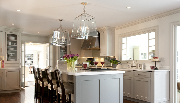 Gray Kitchen Design Idea 16 ...