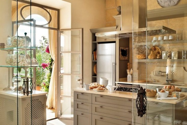 gray kitchen design idea 2