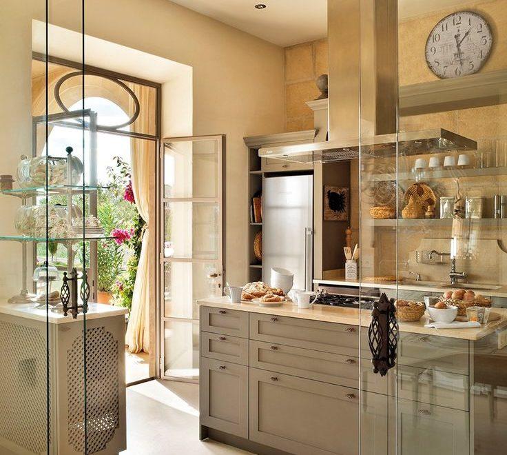 gray kitchen design idea 2