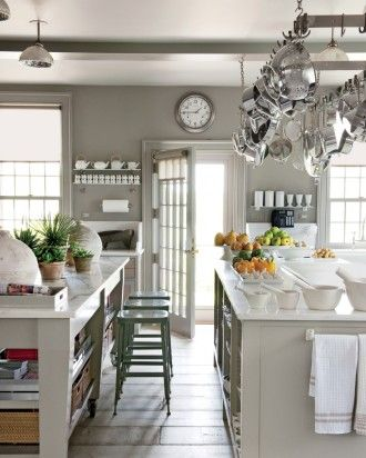 gray kitchen design idea 21