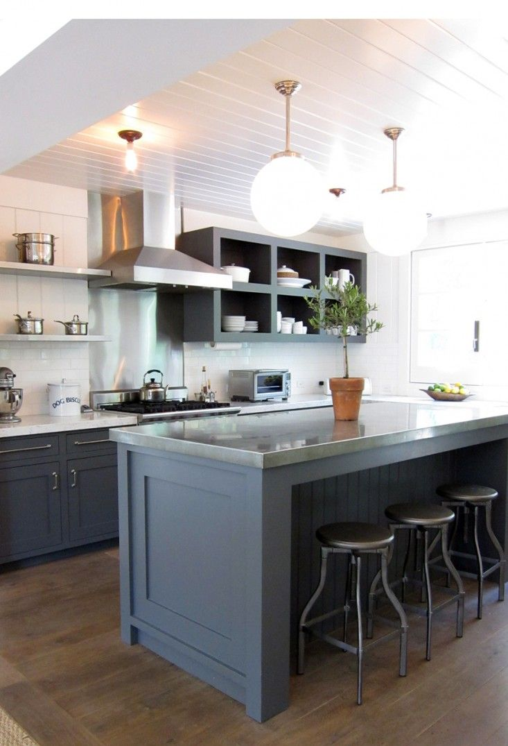66 gray kitchen design ideas decoholic for Kitchen design gallery photos