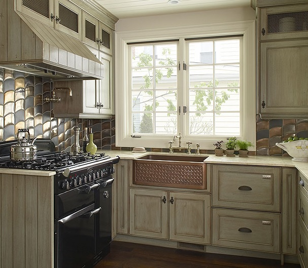 gray kitchen design idea 42