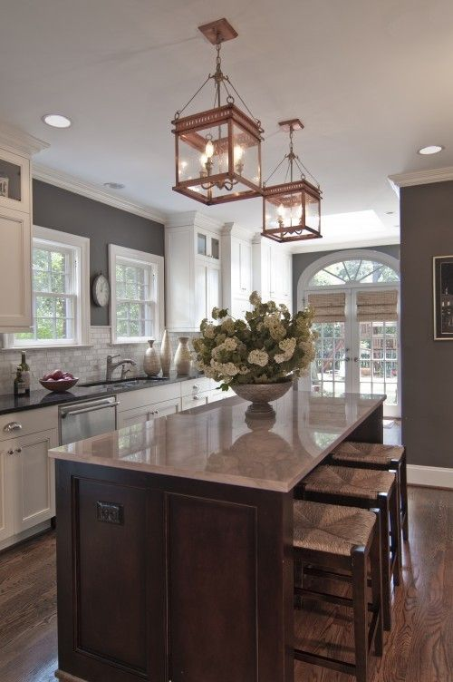 Gray Kitchen Design Ideas Decoholic - Grey copper kitchen