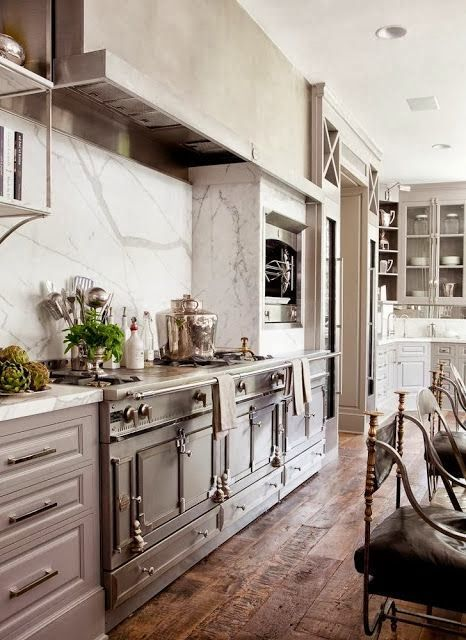 gray kitchen design idea 7