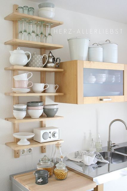 kitchen open shelves 10